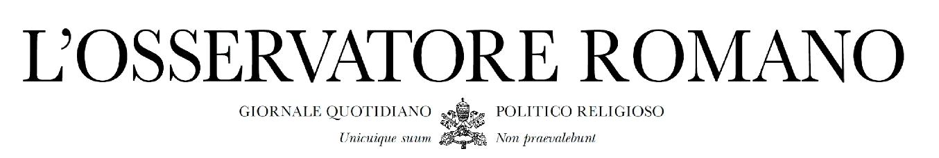 Osservatore Romano, 6 febbraio 2015