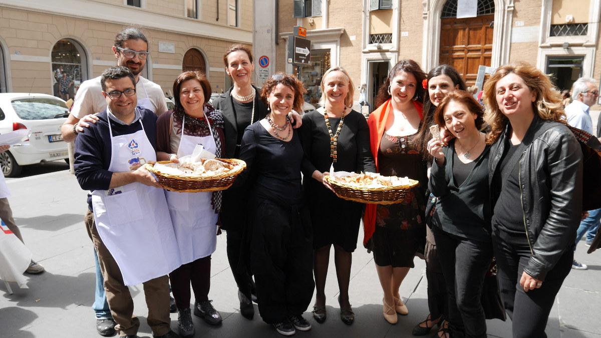 #breadmob, ovvero pane, teatro, solidarietà, allegria. Come è andata.