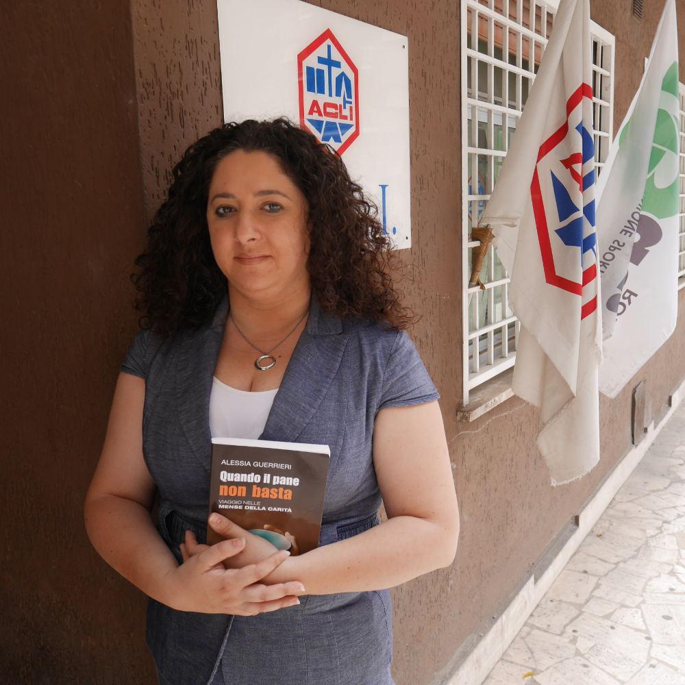 Alessia Guerrieri, giornalista e scrittrice #facciadapane
