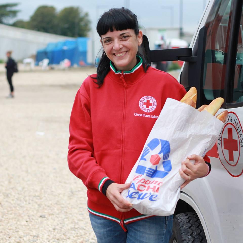 Silvia Piscitelli, Croce Rossa Italiana. Facciadapane