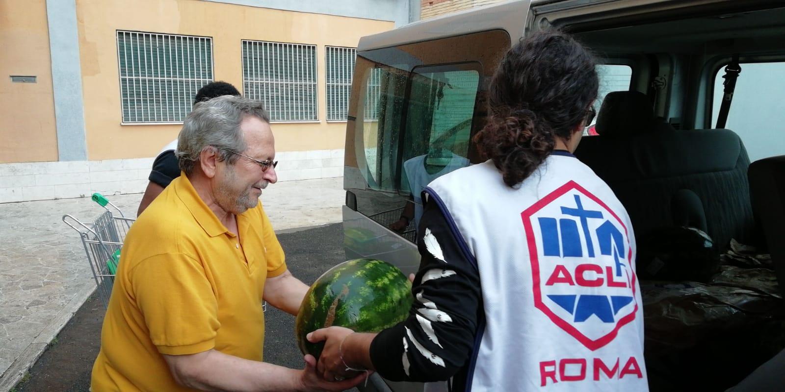 Con Il cibo che serve e il CAR recuperati 500 kg di cocomeri