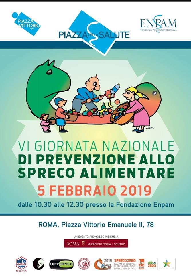 VI Giornata Nazionale di Prevenzione allo Spreco Alimentare