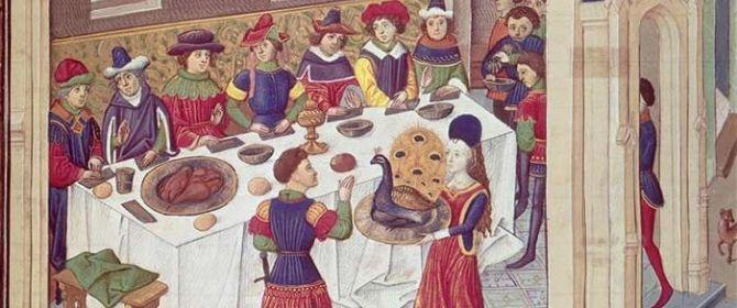 A tavola con le parole della cucina: il Medioevo e il Rinascimento